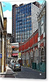 Layers Of London Acrylic Print