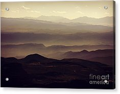 Layers Of Time Acrylic Print
