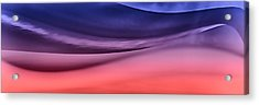 Layerscape In Color Acrylic Print by Kellice Swaggerty
