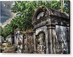 Layfayette Cemetery New Orleans Acrylic Print