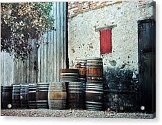 Acrylic Print featuring the photograph Lazy Afternoon At The Winery by Diane Alexander