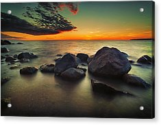 Lazy Sunset Acrylic Print