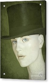 Le Chapeau Acrylic Print by Sophie Vigneault