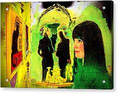 Le Chat Noir Acrylic Print