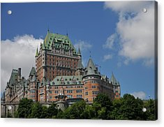 Le Chateau Frontenac  -- Quebec City Acrylic Print