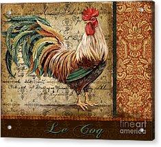 Le Coq-g Acrylic Print by Jean Plout