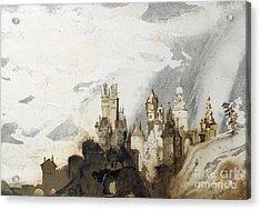 Le Gai Chateau Acrylic Print by Victor Hugo