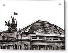 Le Grand Palais Acrylic Print by Olivier Le Queinec