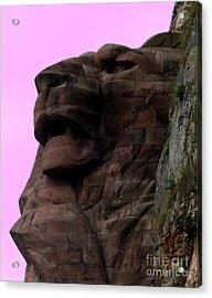 le Lion de Bartholdi Acrylic Print