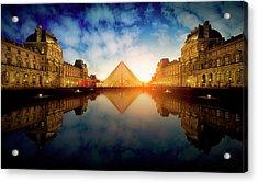 Le Louvre Acrylic Print