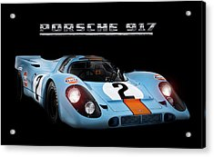 Le Mans King Acrylic Print by Peter Chilelli