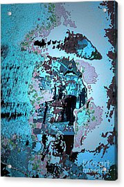 Le Parapluie Acrylic Print