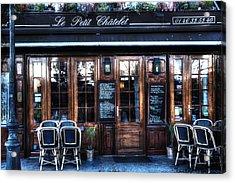 Le Petit Chatelet Paris France Acrylic Print