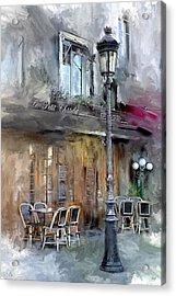 Le Petit Paris Acrylic Print