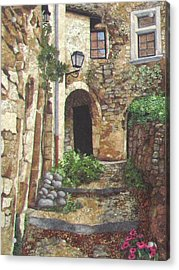 Le Poet Laval IIi Acrylic Print by Lenore Crawford