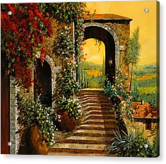 Le Scale   Acrylic Print by Guido Borelli