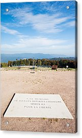 Le Struthof Former Nazi Concentration Acrylic Print by Panoramic Images