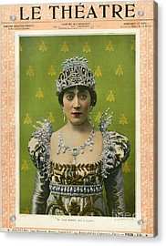 Le Theatre 1899 1890s France Magazines Acrylic Print by The Advertising Archives