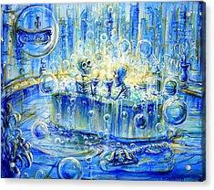 Le Toilette II Acrylic Print