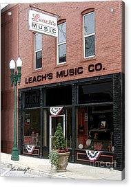Leach's Music Acrylic Print