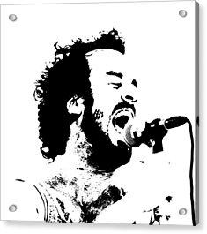 Lead Singer Acrylic Print by James Hammen
