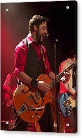 Leader Band Marco Acrylic Print by Jocelyne Choquette