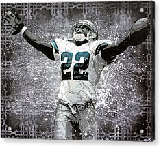 Leader Of The Cowboys Acrylic Print by Bobby Zeik