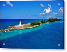 Acrylic Print featuring the photograph Leading The Way To Paradise by Pamela Blizzard