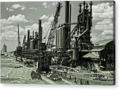 Leadville Factory Acrylic Print by Gregory Dyer