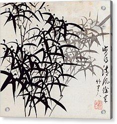 Leaf A Acrylic Print by Rang Tian