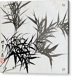 Leaf H Acrylic Print by Rang Tian