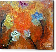 Leaf It To Mother Nature Acrylic Print