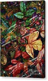 Leaf Motif Acrylic Print
