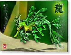 Leafy Sea Dragon Acrylic Print by John Wills