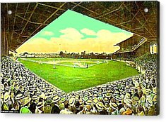 League Park Stadium In Cleveland Oh Around 1915 Acrylic Print