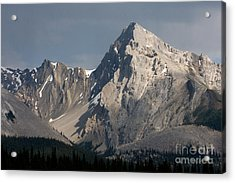Acrylic Print featuring the photograph Leah Peak Canada by Chris Scroggins