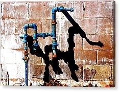 Leaky Faucet II Acrylic Print