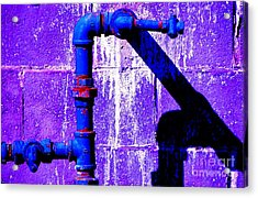 Leaky Faucet IIi Acrylic Print by Christiane Hellner-OBrien