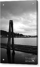 Lean On Me Acrylic Print by Alison Tomich