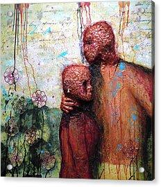 Lean On Me Acrylic Print by Terry Honstead