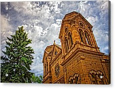 Leaning Toward Heaven Acrylic Print by Dave Garner