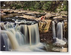 Leap Of Faith Acrylic Print by Dan Friend