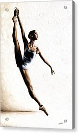 Leap Of Faith Acrylic Print by Richard Young