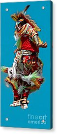 Leaping Into The Air Acrylic Print by Kathleen Struckle