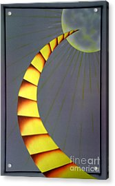 Learning Curve Acrylic Print by Kenneth Clarke