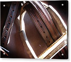 Leather And Iron Acrylic Print