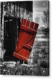 Leave The Door Open Acrylic Print