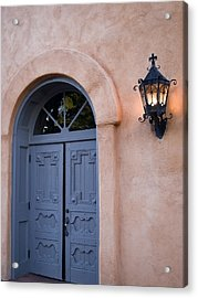 Leave The Light On Acrylic Print by Gregory Ballos