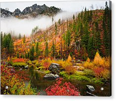 Leavenworth Colors Palette Acrylic Print