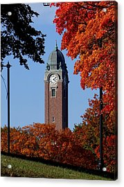 Leavenworth Grant Hall Tower Acrylic Print